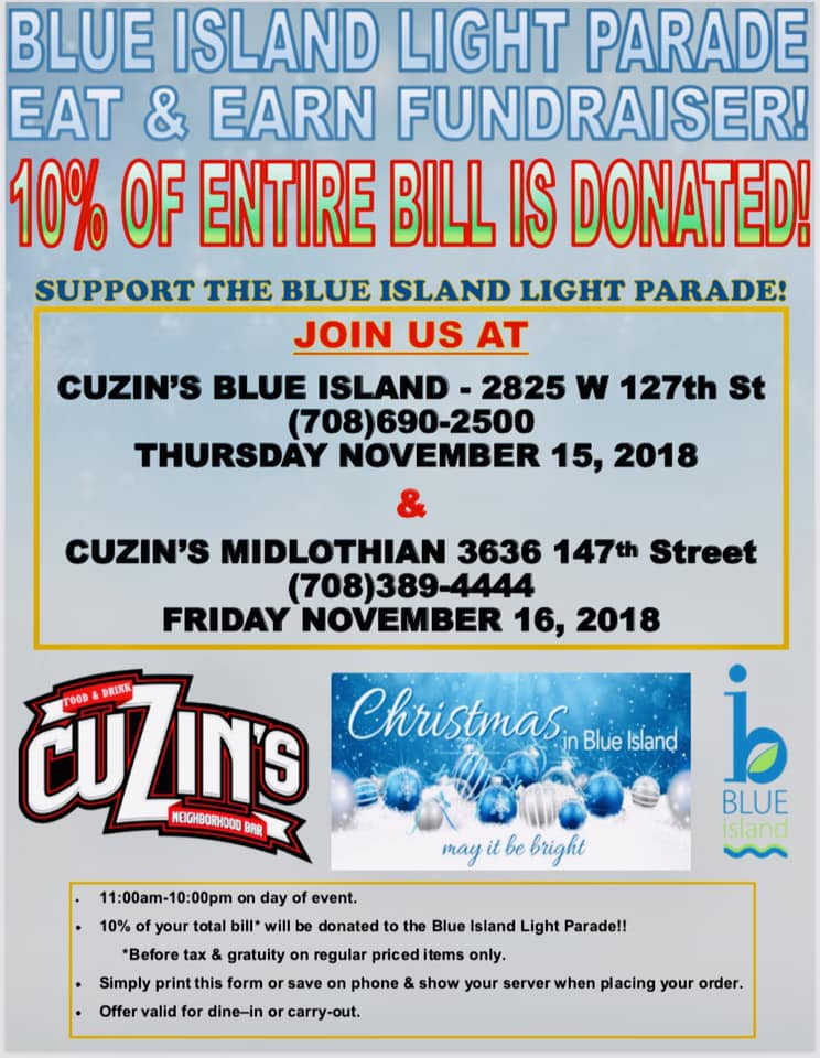 cuzins light parade voucher