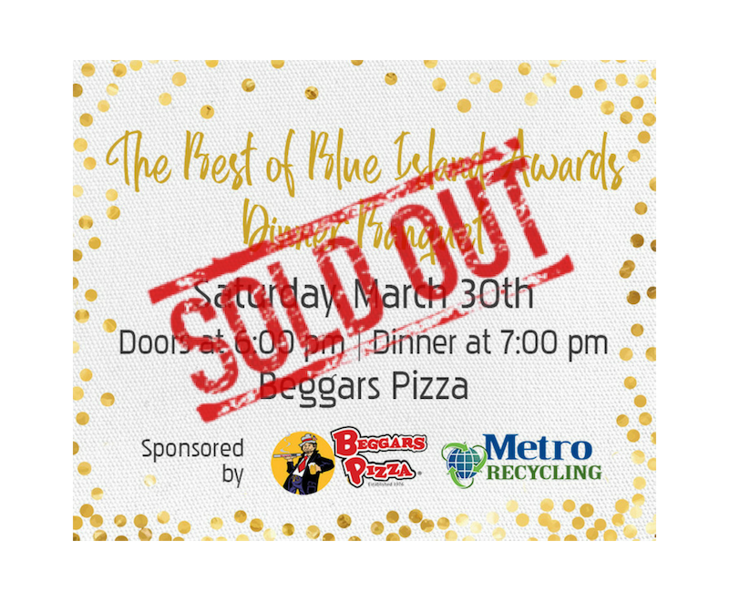 best of blue island awards 2019 are sold out