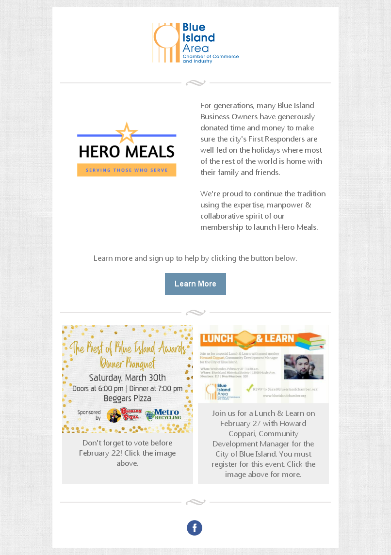 new program launch: hero meals