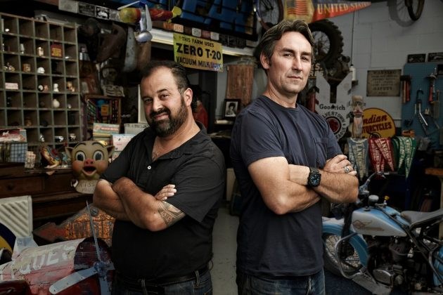 Mike and Frank American Pickers