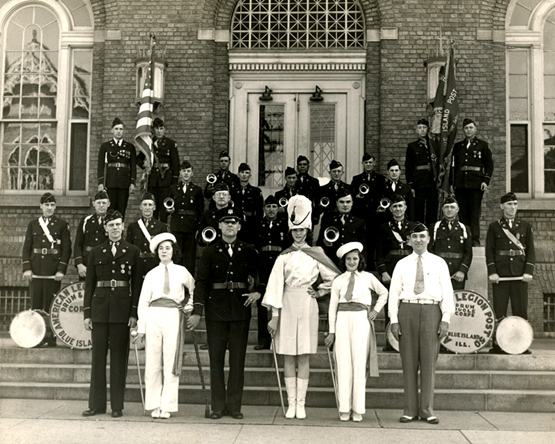 legion band post 50 blue island 1930s