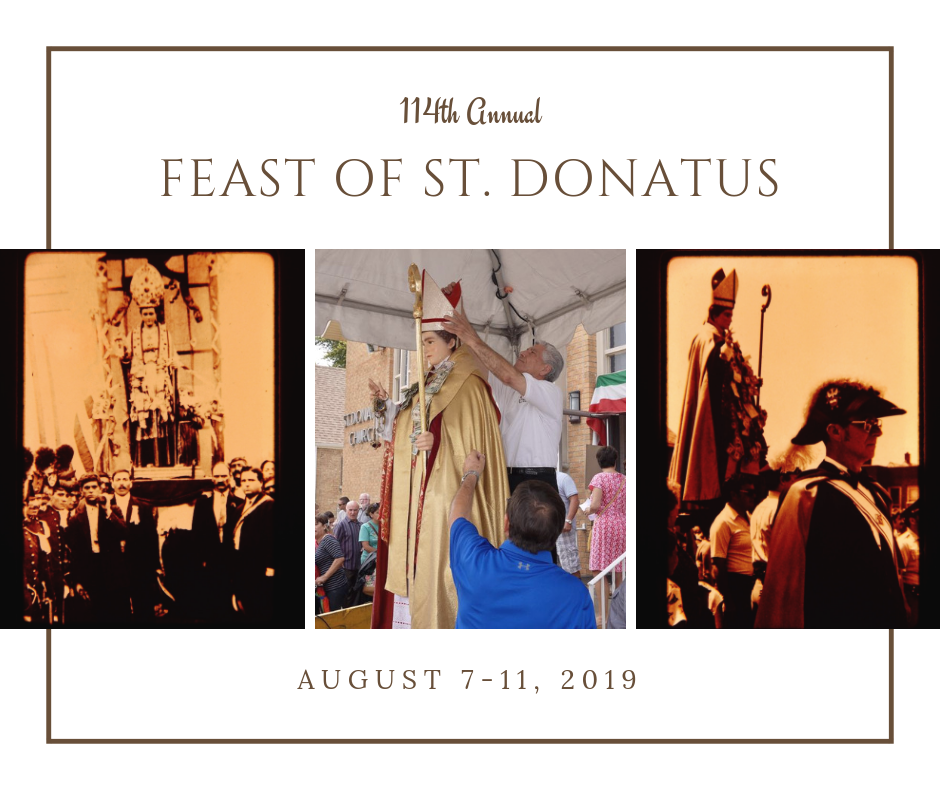 st donatus feast and carnival